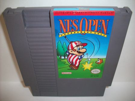 NES Open Tournament Golf - NES Game